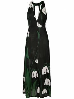 Adriana Degreas платье миди с принтом VTMI0112R20