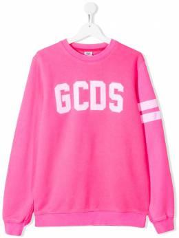 GCDS Kids толстовка с логотипом 022499FL