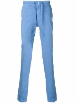 Loro Piana брюки со средней посадкой и шнурком на талии FAI16436AI1