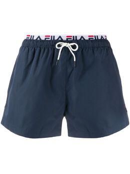 Fila logo lined swimming trunks 687742