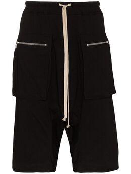 Rick Owens DRKSHDW cargo drawstring shorts DU20S5388RN