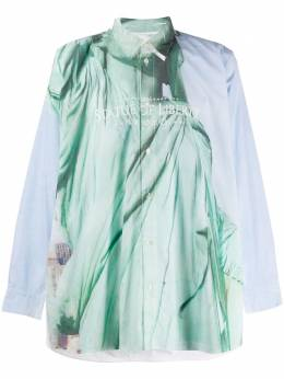Doublet рубашка Statue of Liberty 20SS19SH71