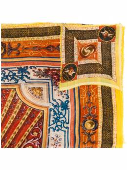 Faliero Sarti объемный шарф с вышивкой CREATOR2060