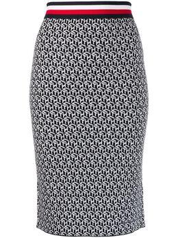 Tommy Hilfiger юбка-карандаш с монограммой WW0WW26763