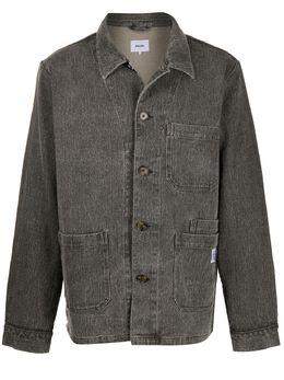 Nanushka куртка-рубашка Theo с накладными карманами MJA00033