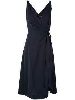 Gloria Coelho расклешенное платье с запахом V20V004