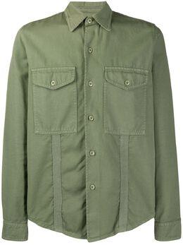 Ami Paris рубашка с карманами E20HC310248