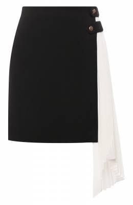 Шерстяная юбка Givenchy BW402A11BN