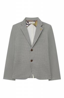 Хлопковый пиджак Manuel Ritz MR1091/2A-6A