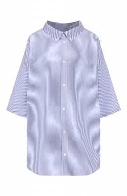 Хлопковая рубашка Balenciaga 622051/TYB19