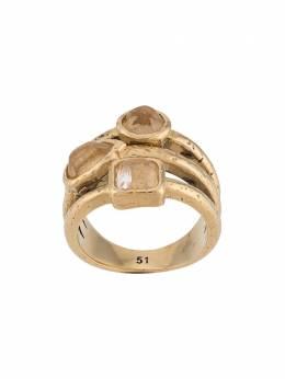Goossens кольцо с кабошонами GOP20RI002