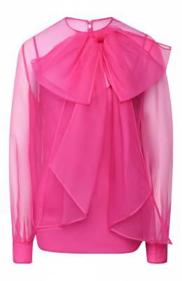 Шелковая блузка Valentino TB0AE4U51C8