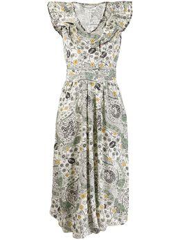 Isabel Marant Etoile платье Coraline с оборками RO158220P024E