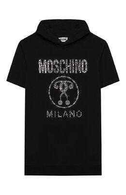 Хлопковое платье Moschino HDV08N/LDA12/10A-14A