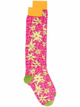 Marni носки с цветочным узором SKMC0068Q0FC1C6