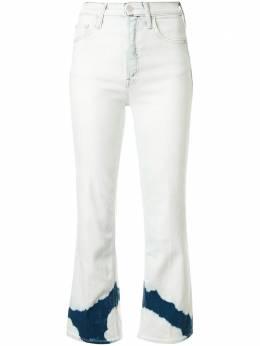 Mother расклешенные джинсы The Tripper средней посадки 1566M686