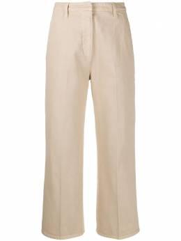 Prada укороченные однотонные брюки GFP442S2011VTW