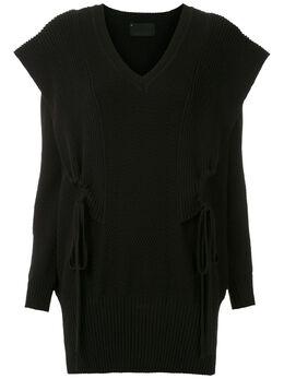 Andrea Bogosian трикотажное платье мини Remember 008430
