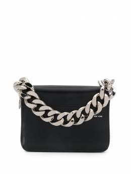 Kara faux-leather chain-link clutch SLG820128