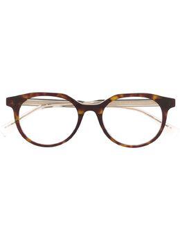 Fendi Eyewear очки в круглой оправе черепаховой расцветки FFM0078