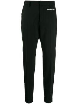 Dsquared2 зауженные брюки строгого кроя S75KB0088S40320