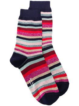 Paul Smith striped print socks W1A086DAK511