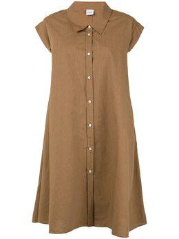 Aspesi платье-рубашка свободного кроя H601G288