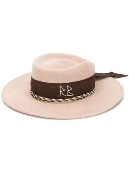 Ruslan Baginskiy декорированная фетровая шляпа CNT070F