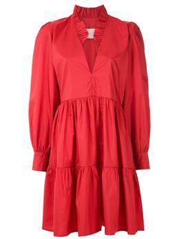 Framed платье с объемными рукавами Sevilha 34754