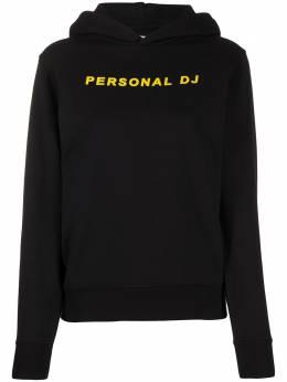 Kirin Personal DJ print longsleeved hoodie KWBB001S20JER0051018