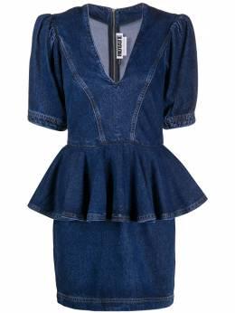 Rotate платье с глубоким V-образным вырезом 900664