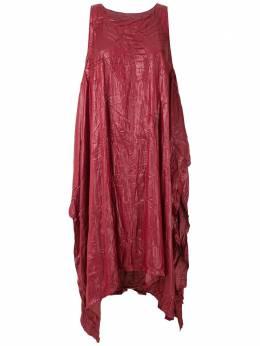 Uma | Raquel Davidowicz платье миди Barka VESTIDOBARKA10AW20