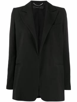 Federica Tosi structured shoulder single-breasted blazer FTE20GI0190GA0020