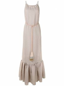 Framed ярусное платье макси 354900