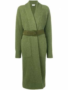 Ami длинный свитер в рубчик H19FK850010