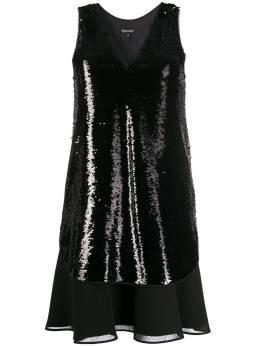 Emporio Armani платье с пайетками 3H2A922NWLZ