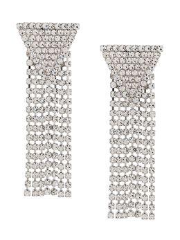 Alessandra Rich серьги с кристаллами FABA2020001