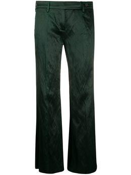 Prada Pre-Owned расклешенные брюки 1990-х годов PRA250U