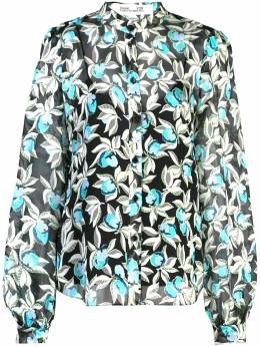 Dvf Diane Von Furstenberg рубашка с цветочным принтом 14286DVF