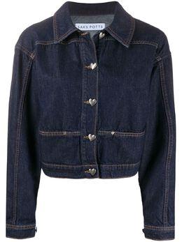 Saks Potts джинсовая куртка Carmen с логотипом 13512CARMEN