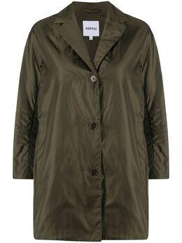 Aspesi single-breasted cropped-sleeves jacket N8807961