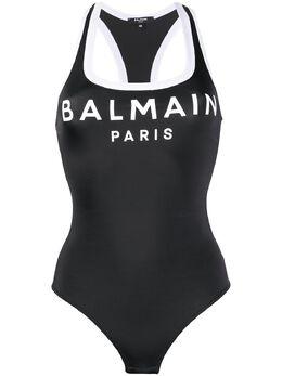 Balmain боди с логотипом BPF045000