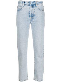 Ssheena джинсы прямого кроя в полоску 20SSJEVYDS20002