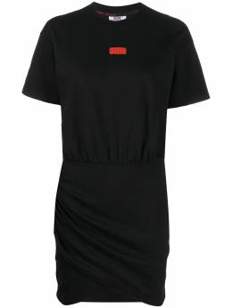 GCDS Wrapped Monster fitted dress SS20W020085
