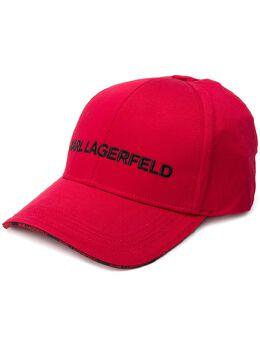 Karl Lagerfeld кепка с вышитым логотипом 96KW3410517