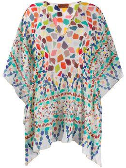 Missoni Mare платье с геометричным принтом MMQ00114BW005R