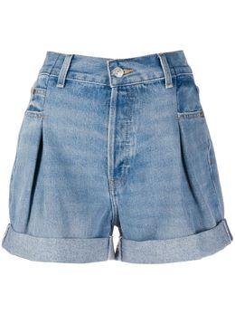 Re/Done джинсовые шорты с подворотами 1605WZTSH