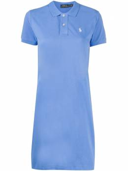 Polo Ralph Lauren платье поло с вышитым логотипом 211799490