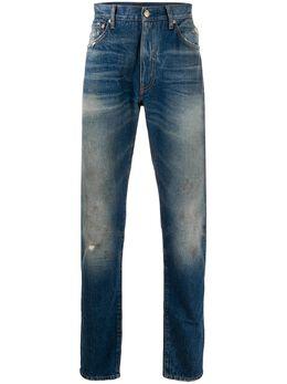 Alanui прямые джинсы средней посадки LMYA001S20011044K6K6