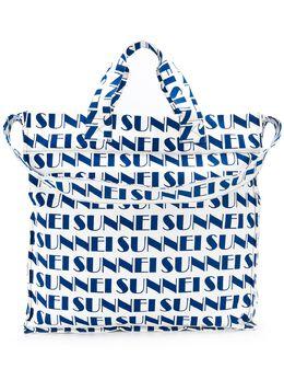 Sunnei сумка-тоут с логотипом XX05AC